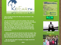 Kid Earth Website